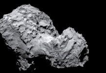 ESA Rosetta over Comet, Close-up Engineering - Credits: esa.int