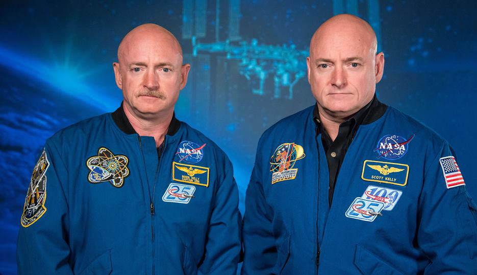Mark e Scott Kelly