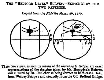 La revisione dell'esperimento di Rowbotham attuato da Wallace