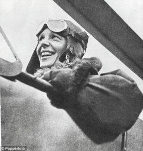 Il primo pilota donna della storia.
