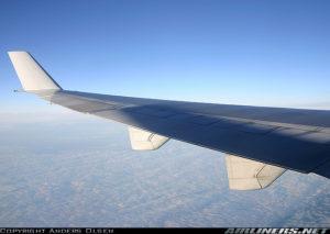 Tipico panorama visibile durante un volo. Credits: airliners.net