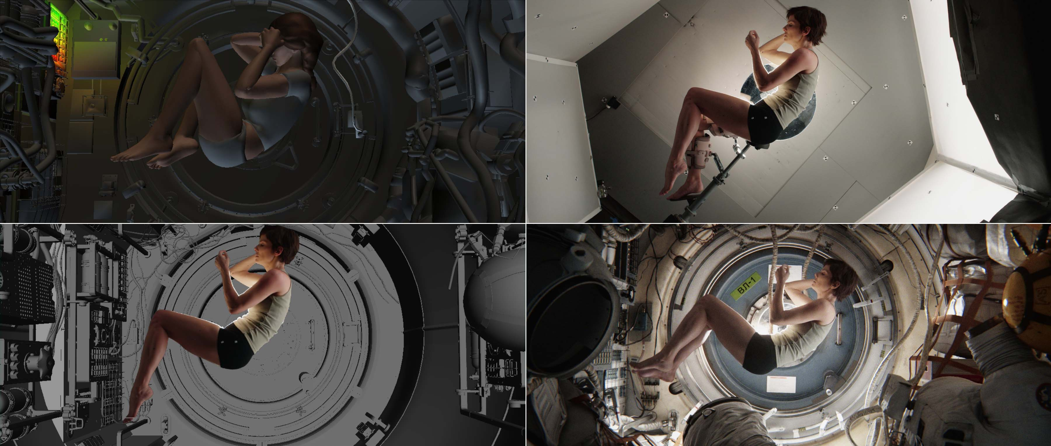 """Articolo gravità ISS - Film """"Gravity"""""""