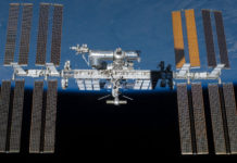 ISS in orbita